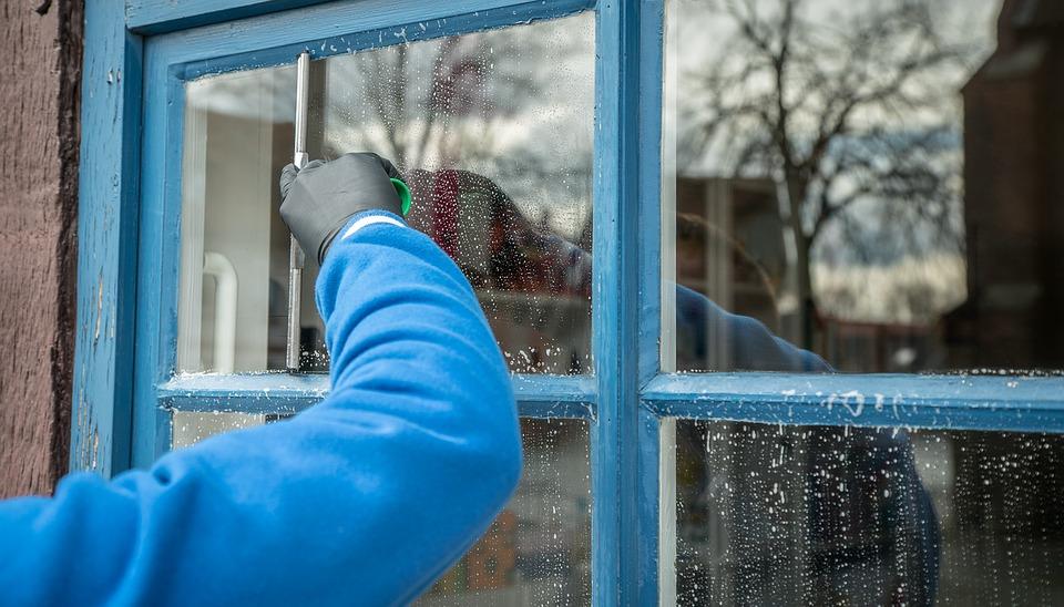 ramen wassen zonder strepen